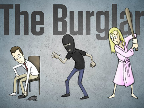 http://oob.samuelfrench.com/index.php/the-burglar-by-kevin-v-mead/